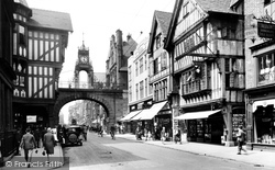 Chester, Foregate Street 1929