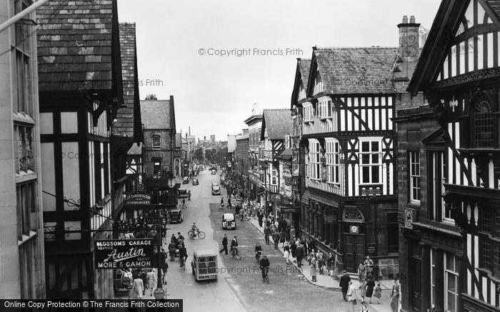 Photo of Chester, Foregate Street c1950, ref. C82065