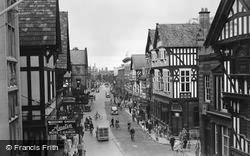 Chester, Foregate Street c.1950