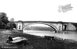 Chester, Grosvenor Bridge 1888