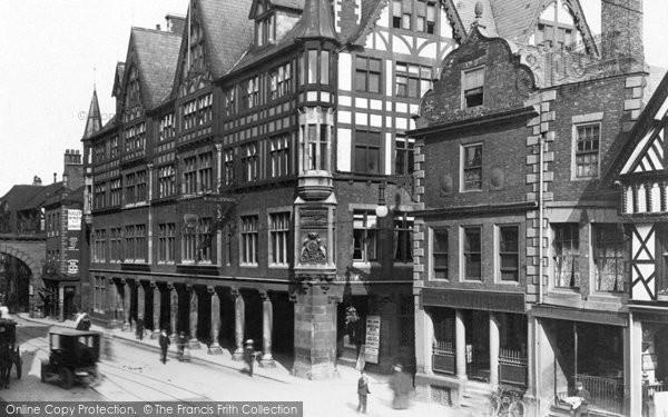 Photo of Chester, Grosvenor Hotel c1930, ref. C82050