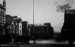 Chester, Horse And Cart, Northgate Street c.1880