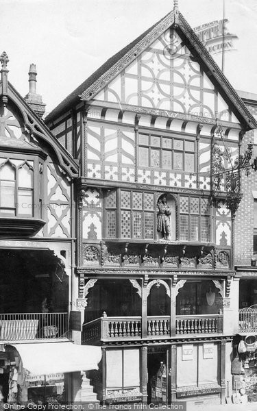 Photo of Chester, Kings House 1891