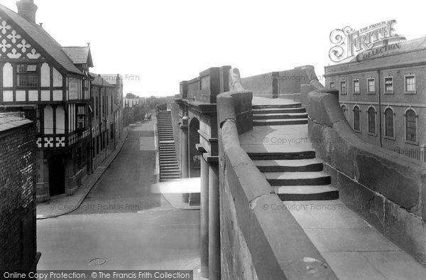 Photo of Chester, North Gate and City Wall 1929, ref. 82750