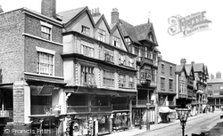 Chester, Old Mansions On Bridge Street 1895