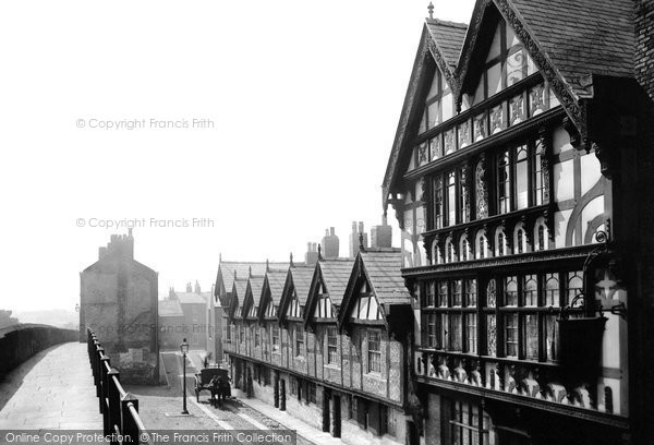 Photo of Chester, Park Street 1888