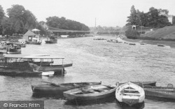 Chester, River Dee 1914