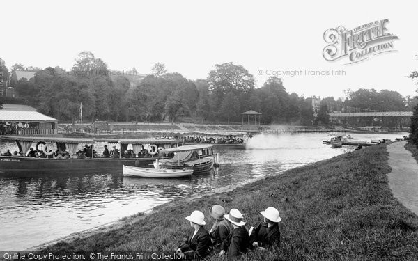 Photo of Chester, River Dee 1923