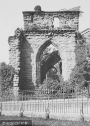 Chester, St John's Church 1888