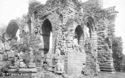 Chester, St John's Church Ruins 1888