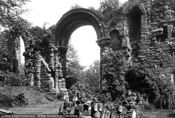 Photo of Chester, St John's Priory 1888