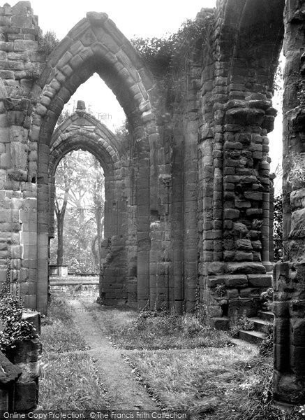 Photo of Chester, St John's Priory 1913