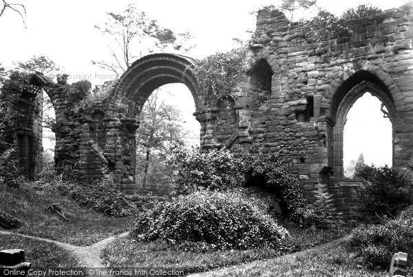 Photo of Chester, St John's Priory West 1913