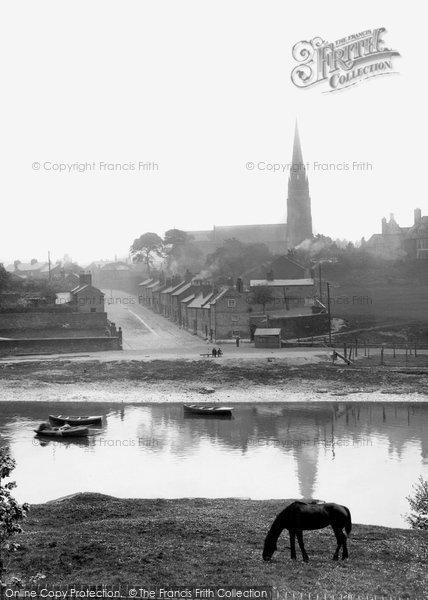 Photo of Chester, St Mary-without-the-Walls and Greenway Street 1906