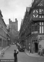 Chester, St Werburgh Street 1949