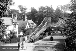 Chester, Suspension Bridge 1914