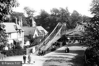 Chester, Suspension Bridge 1914