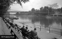 Chester, Suspension Bridge 1949
