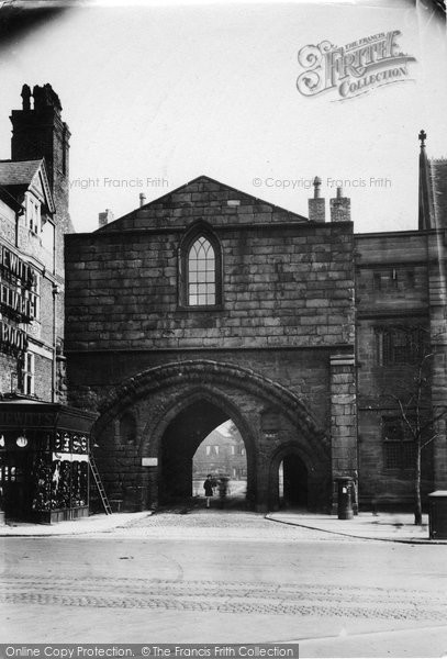 Photo of Chester, the Abbey Gateway c1930, ref. C82041