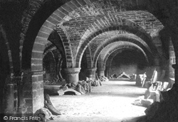 Chester, The Cathedral Crypt 1888