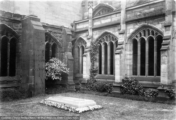 Photo of Chester, The Cathedral, Dean Howsens Tomb 1888