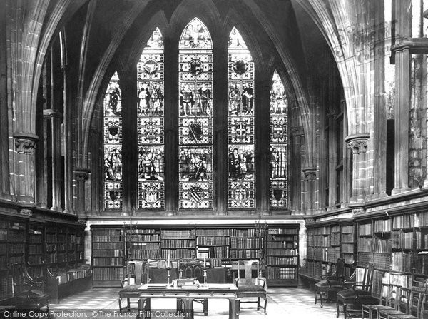 Photo of Chester, The Cathedral Library 1888