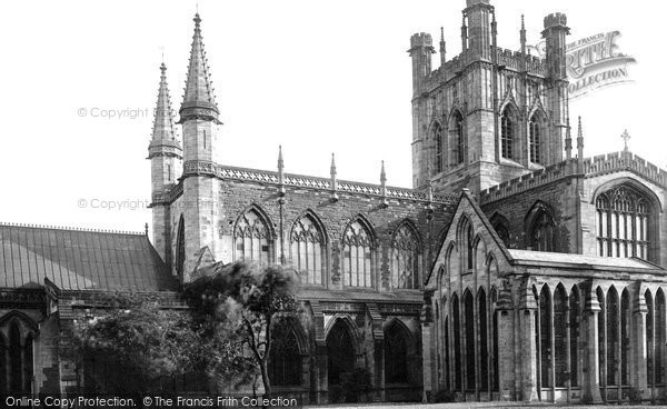 Photo of Chester, the Cathedral, North Side 1888, ref. 20576