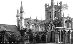 Chester, The Cathedral, North Side 1888