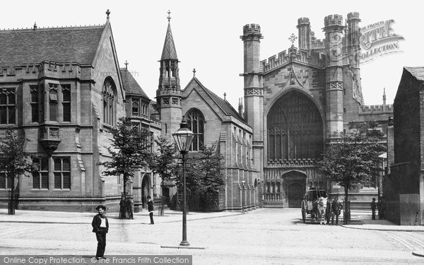 Photo of Chester, the Cathedral, the West Front 1888, ref. 20577