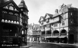 Chester, The Cross And Bridge Street c.1880