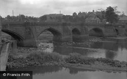 Chester, The Old Bridge 1949