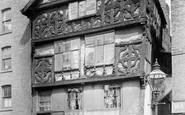 Chester, the Oldest House, Lower Bridge Street 1895