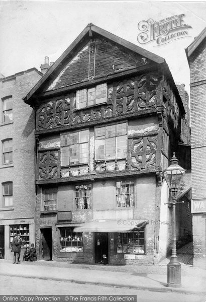 Photo of Chester, the Oldest House, Lower Bridge Street 1895