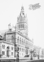 Chester, The Town Hall 1888
