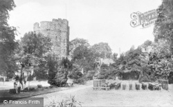 Chester, The Water Tower And Grounds c.1930