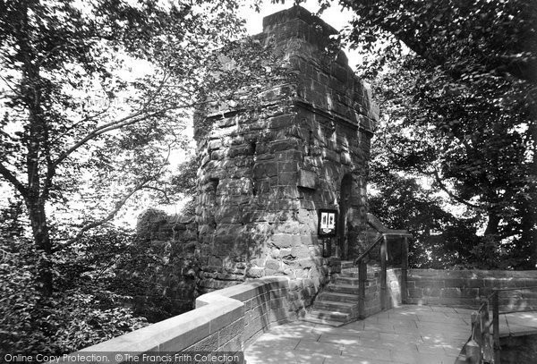 Photo of Chester, Water Tower and City Walll 1929, ref. 82754