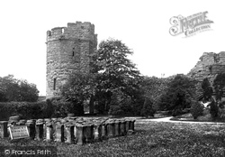 Chester, Water Tower And Roman Hypocaust 1888