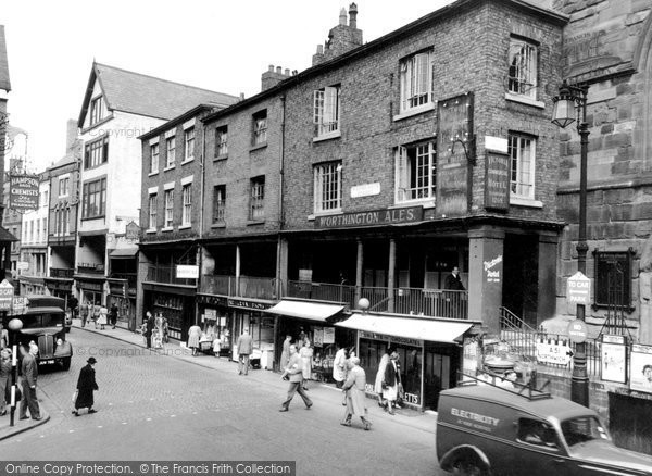 Photo of Chester, Watergate Row 1949