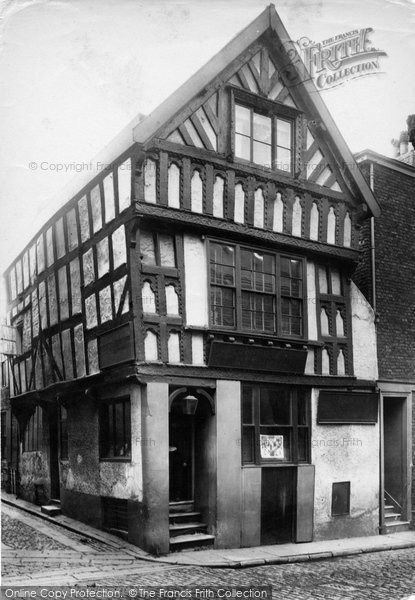 Photo of Chester, Watergate Street 1888