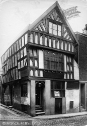 Chester, Watergate Street 1888