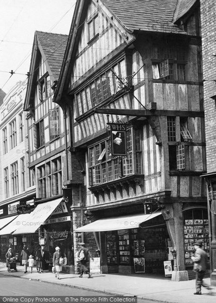 Photo of Chester, WHS, Foregate Street 1929, ref. 82748x