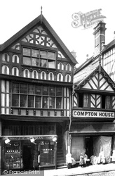 Chester, Ye Olde Crypte And Compton House 1895