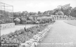 Chester Zoo, Approaching The Polar Bear Enclosure c.1950