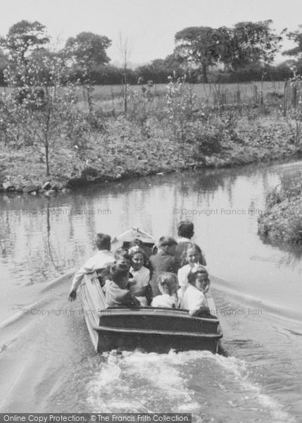 Photo of Chester Zoo, Boating Trip On The Canals c.1950