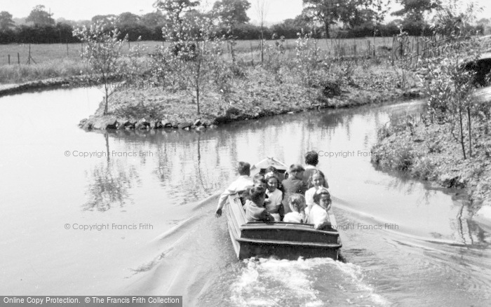 Photo of Chester Zoo, Boating Trips On The Canals c.1950