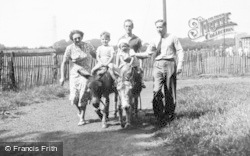 Chester Zoo, Donkey Riding c.1950