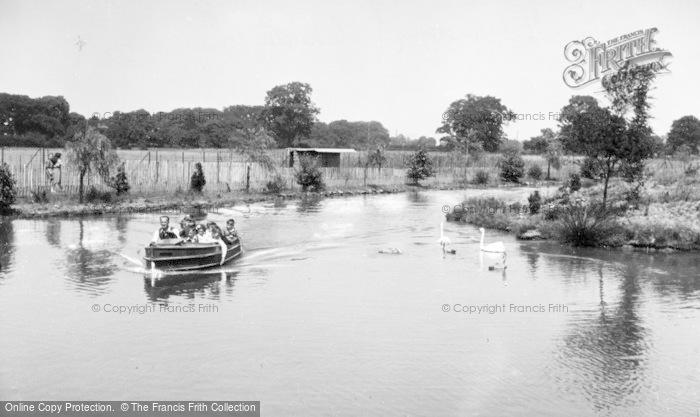 Photo of Chester Zoo, Motor Boat Trips c.1950