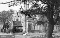 Chester Zoo, S.W. View Of Cafe And Offices c.1955