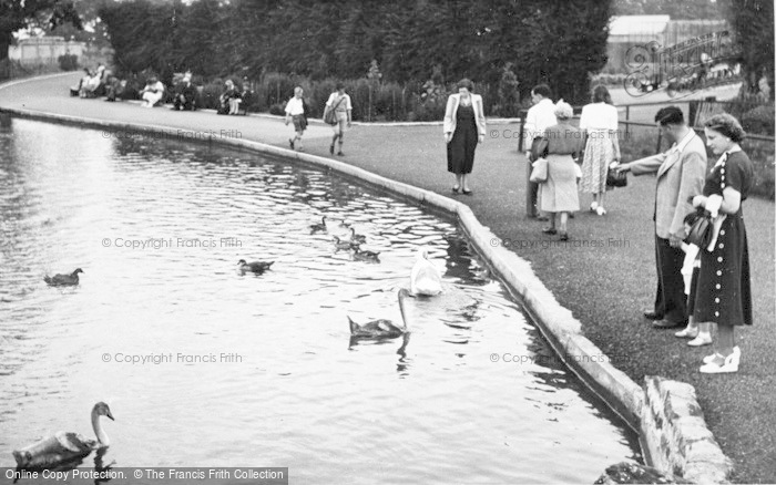 Photo of Chester Zoo, The Boating Lake c.1950