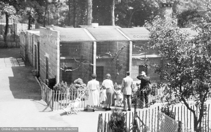 Photo of Chester Zoo, The Chimpanzee Cages c.1950